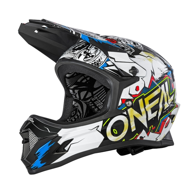 BACKFLIP Youth Helmet VILLAIN white M (48-50cm)