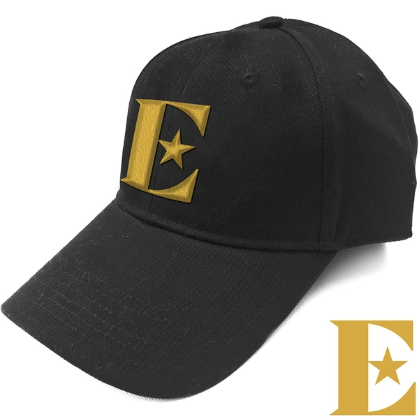Elton John - Gold E Men's Baseball Cap - Black