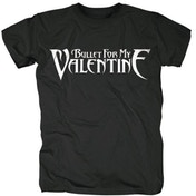 Bullet For My Valentine Logo Men's XX-Large T-Shirt - Black