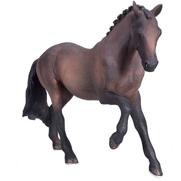 ANIMAL PLANET Farm Life Hanoverian Bay Horse Toy Figure