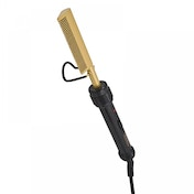 Wahl ZX698 Mains Operated Afro Straightening Comb Gold UK Plug