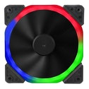 Target Halo Dual Ring 120mm 1100RPM 18 LED RGB Fan