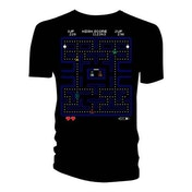 Doctor Who - Retro Video Game Maze Women's Small T-Shirt - Black
