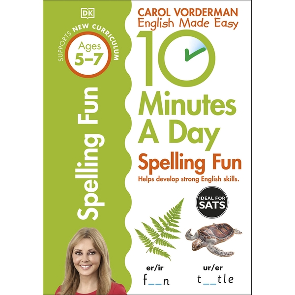 10 Minutes a Day Spelling Fun Ages 5-7 Key Stage 1 (Made Easy Workbooks) Paperback - 1 Jun. 2015