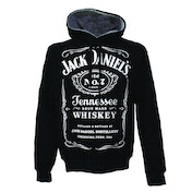 Jack Daniels Adult Male Old No.7 Brand Logo XX-Large Hoodie