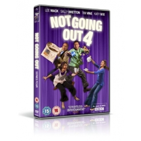 Not Going Out: Series 4 DVD