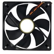 Target 120mm 1100RPM Black OEM Fan