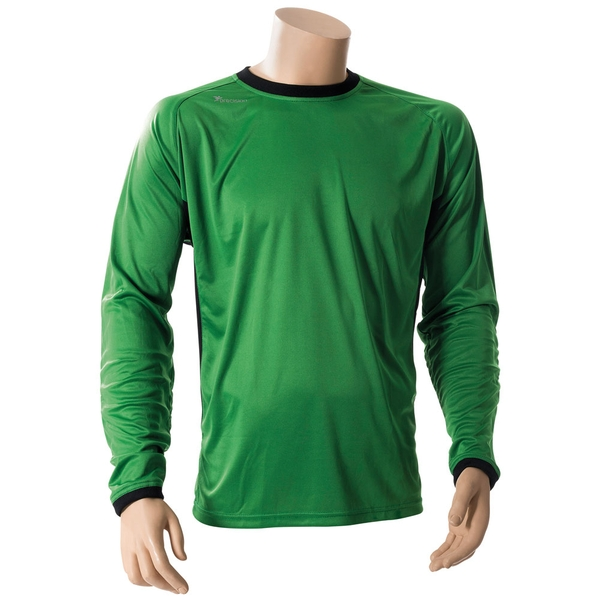 Precision Premier Goalkeeping Shirt Green - M Junior 26-28""