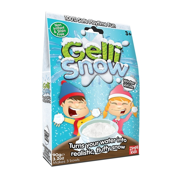 Gelli Snow Fake Snow White Bumper Pack 90g