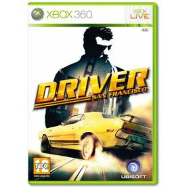 Driver San Francisco Game Xbox 360