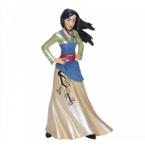Mulan Coutue de Force Figurine