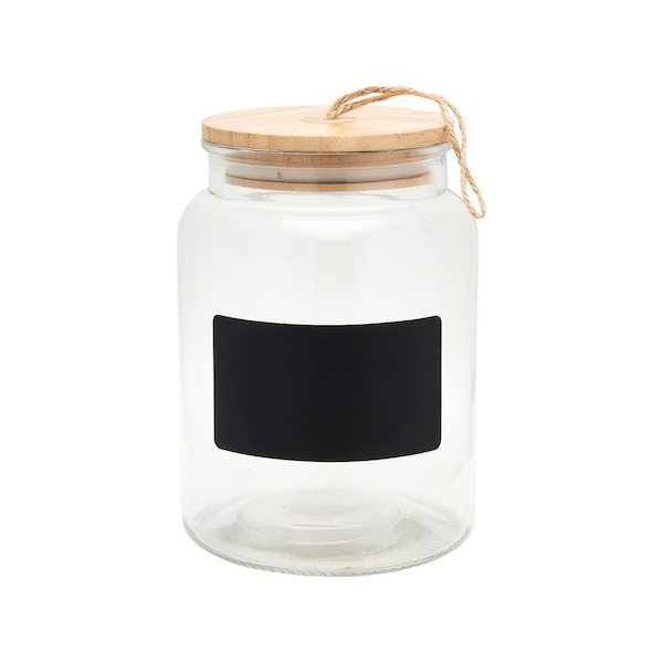 Sass & Belle Glass ChalkBoard Storage Jar