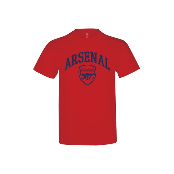 Arsenal Crest T Shirt Youths Red 12-13 Years