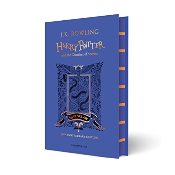 Harry Potter and the Chamber of Secrets - Ravenclaw Edition  Hardback 2018