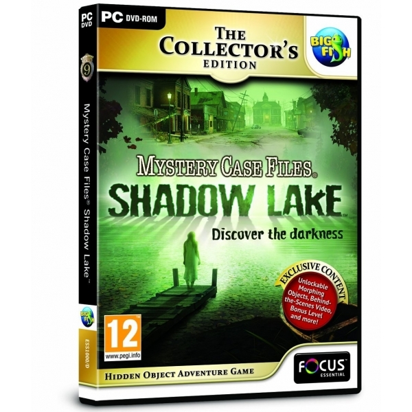 Mystery Case Files Shadow Lake Game PC