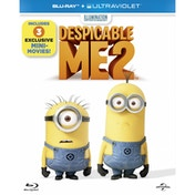 Despicable Me 2 Blu-ray   UV Copy