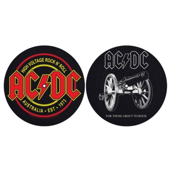 AC/DC - For Those About To Rock / High Voltage Slipmat Set