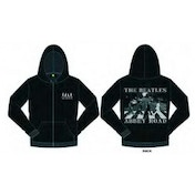 The Beatles Abbey Road Mens Hoodie  Black: Medium