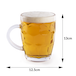Glass Beer Tankards - Set of 4 | M&W - Image 8