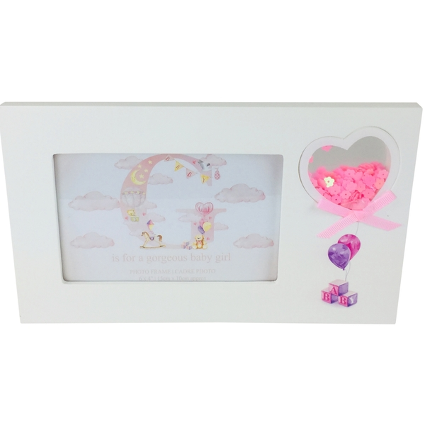 Pink Girl Picture Frames