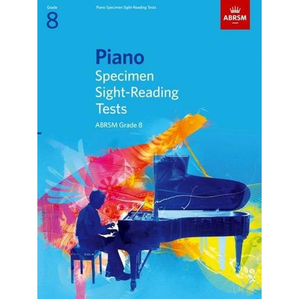 Piano Specimen Sight-Reading Tests, Grade 8  2008 Sheet music