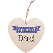 Special Dad Hanging Heart Sign