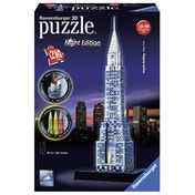 Ravensburger Chrysler Building - Night Edition 216 Piece 3D Jigsaw Puzzle
