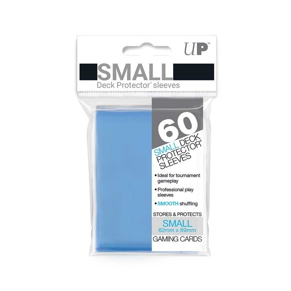Ultra Pro Light Blue Small Deck Protectors - 60 Sleeves