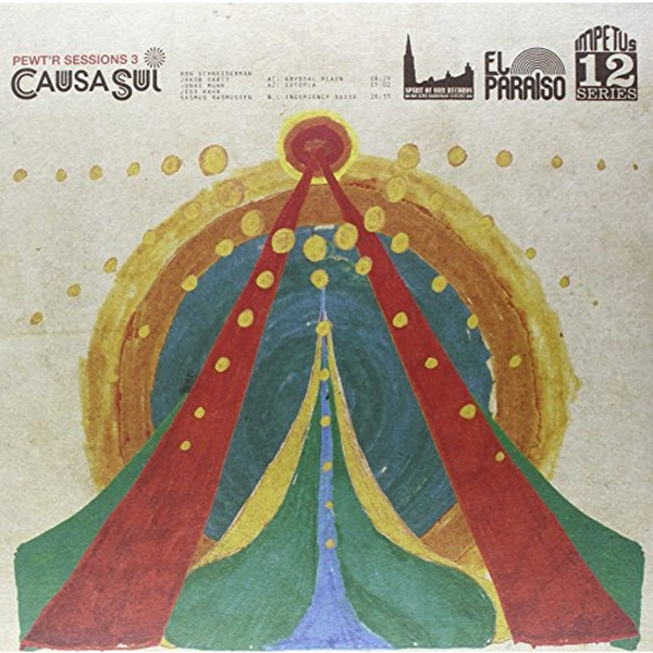 Causa Sui – Pewt'r Sessions 3 Limited Edition Orange Marble Vinyl