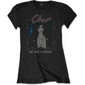 Cher - Heart of Stone Women's Medium T-Shirt - Black