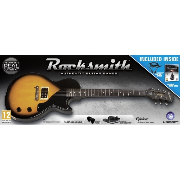 Rocksmith and Epiphone Les Paul Guitar Game PS3