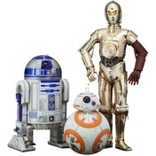 C-3PO & R2-D2 with BB-8 (Star Wars: The Force Awakens) Kotobukiya ArtFX+ Statue