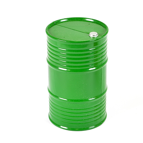 Fastrax Painted Oil Drum - Green