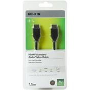 Belkin HDMI to HDMI Audio Video Cable in Black 1.5m