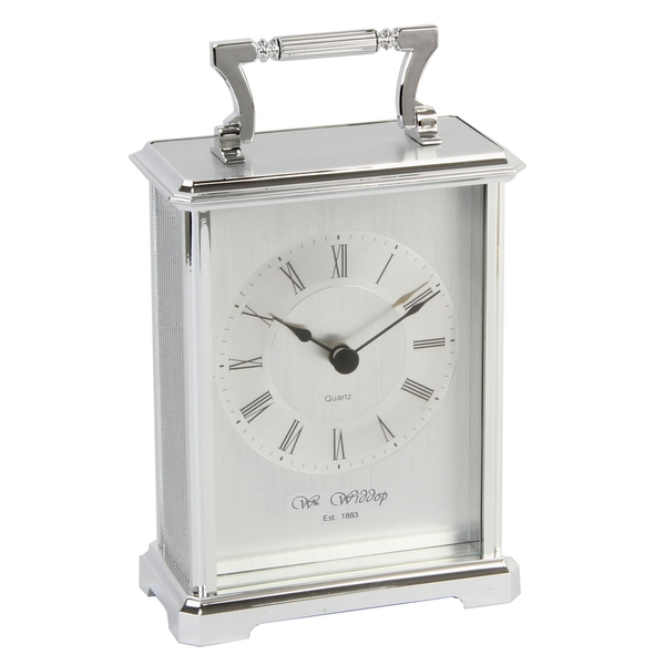 Silver Carriage Clock