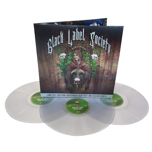 Black Label Society - Unblackened Clear  Vinyl