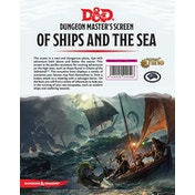 Dungeons & Dragons DM Screen - Of Ships and Of Sea