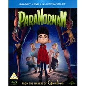 ParaNorman 3D Blu-ray DVD & UV Copy