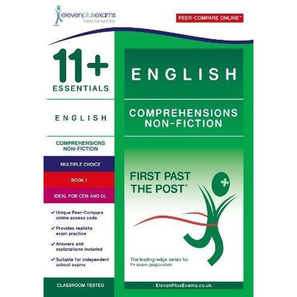 11+ Essentials English Comprehensions: Non Fiction Book 1  Paperback / softback 2017