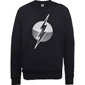 DC Comics - Originals Flash Spot Logo Men's XX-Large Sweatshirt - Black