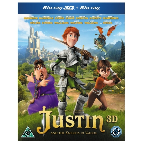 Justin and the Knights of Valour 3D Blu-ray