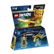 Lloyd Gold Ninja (Ninjago) LEGO Dimensions Fun Pack