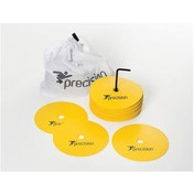 Precision Medium Round Rubber Marker Discs Yellow (Set of 20)