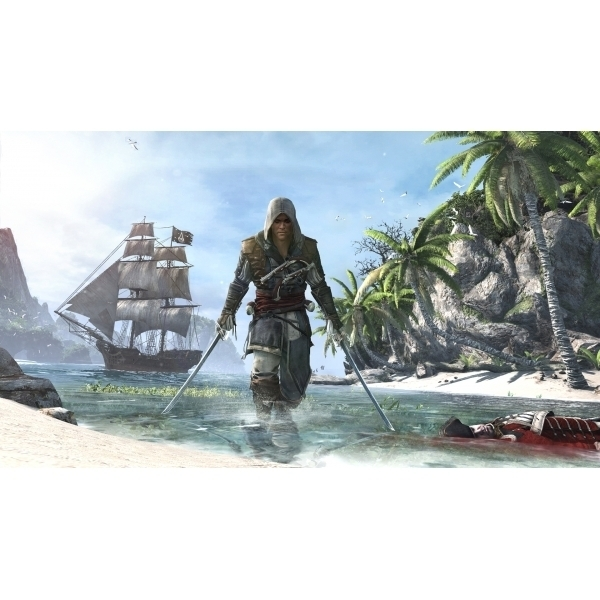 Ex-Display Assassin's Creed IV 4 Black Flag Skull Edition Game Xbox One Used - Like New - Image 8