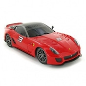 Ferrari 599 Red RC Car 1/18