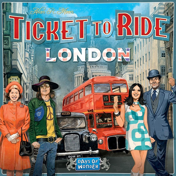 Image of Ticket To Ride - London