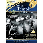 Paul Temple Collection: Send for Paul Temple   Calling Paul Temple   Paul Temple's Triumph   Paul Temple Returns DVD