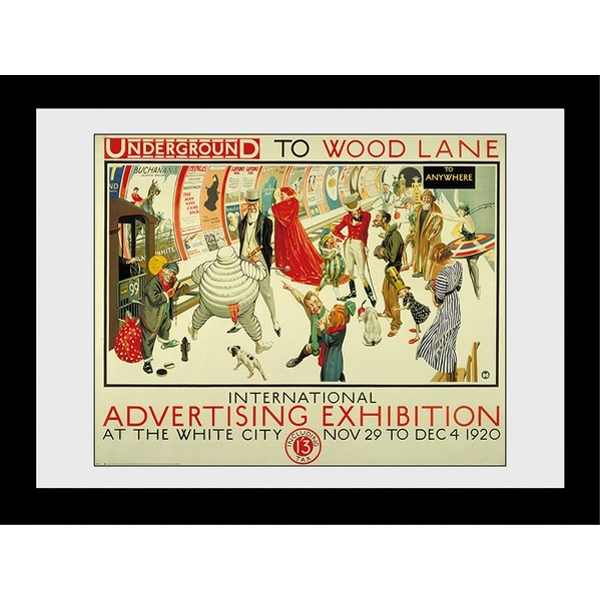 Transport For London Advertising Expo 60 x 80 Framed Collector Print
