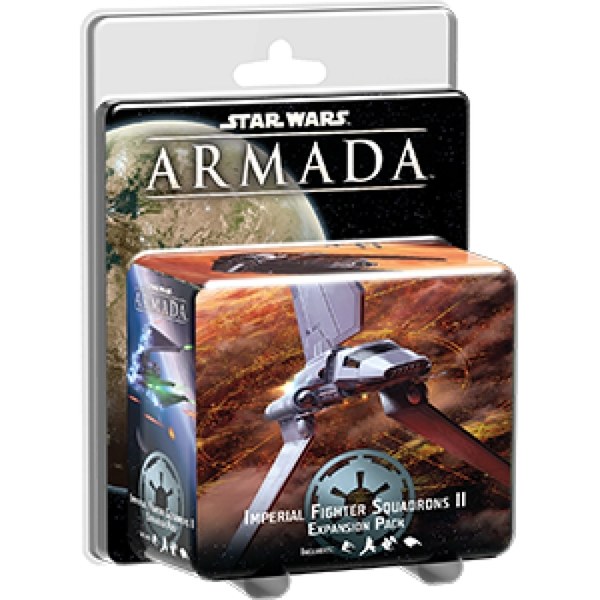 Star Wars Armada Imperial Fighter Squadrons II Expansion Board Game
