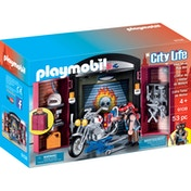 Playmobil City Life Bike Shop Play Box